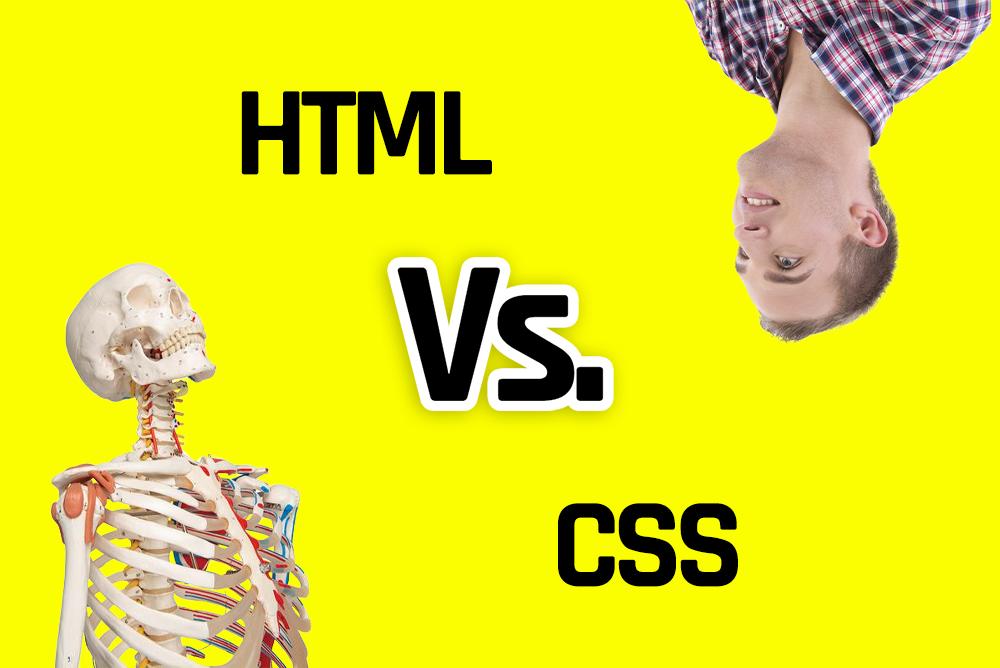 Linguagens: html x  CSS